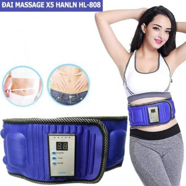 Đai Massage X5 - Máy Mát Xa Bụng, Máy Tập Cơ Bụng Cao Cấp Đánh Tan Mỡ Bụng - Đai Massage Tan Mỡ Bụng Bảo Hành 1 Đổi 1 Toàn Quốc