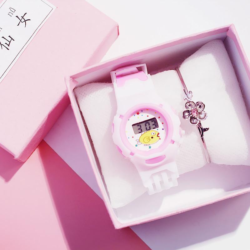 Nơi bán Đồng hồ dây cao su, đồng hồ thể thao Candycat C1106 cho bé cực xinh xắn, chống nước nhẹ ( Tặng pin )