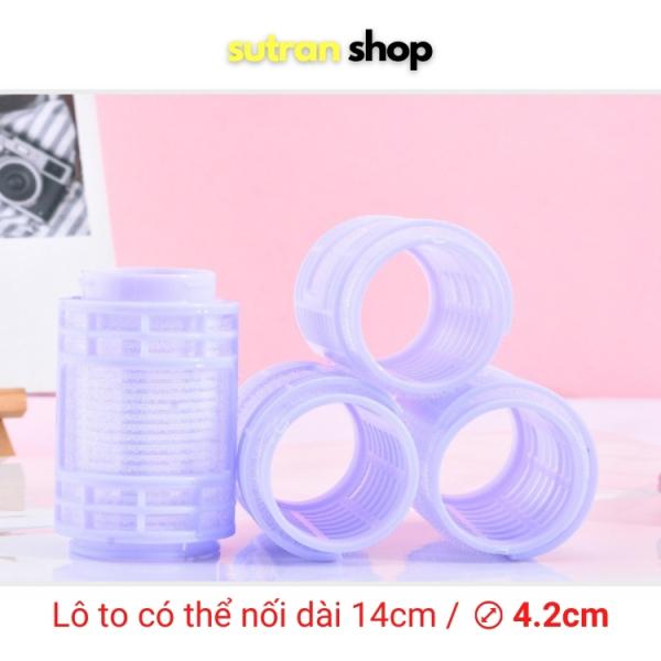 Lô Cuốn Tóc Tự Dính Sutran Shop Đường Kính Lớn 2 Lô Nối Dài 14cm Tạo Kiểu Uốn Mái Dài Loại To Cỡ Lớn giá rẻ