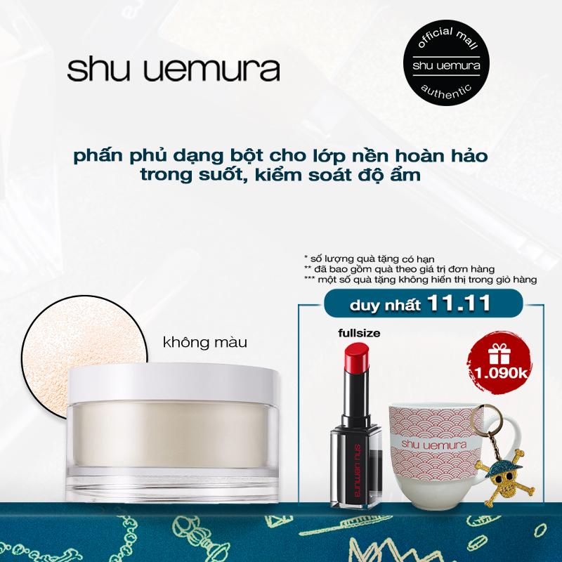 phấn phủ dạng bột siêu mịn shu uemura face powder 15g