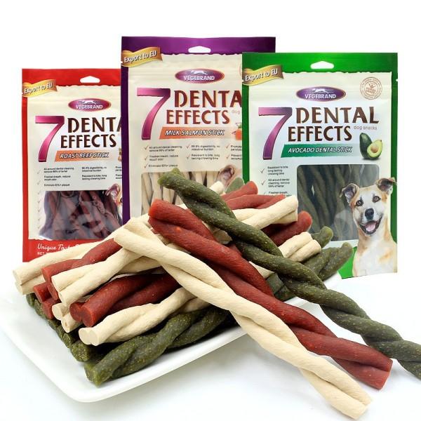 Xương gặm sạch răng cho chó 7 Dental Gói 160g siêu tiết kiệm