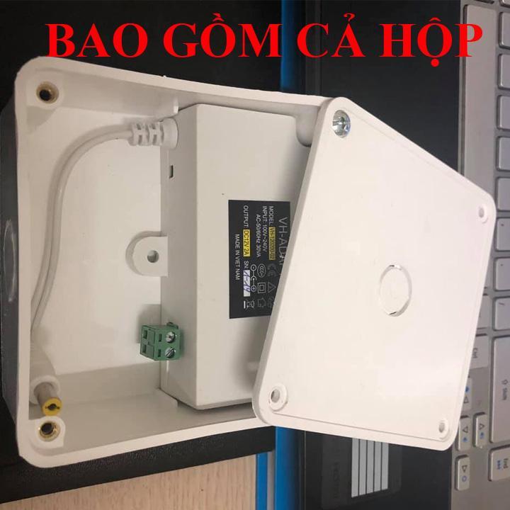 COMBO adapter 12v-2a và hộp nối, nguồn 12v2a , adapter 12v2a , adapter 12v 2a hàng mới - nguồn hộp nối