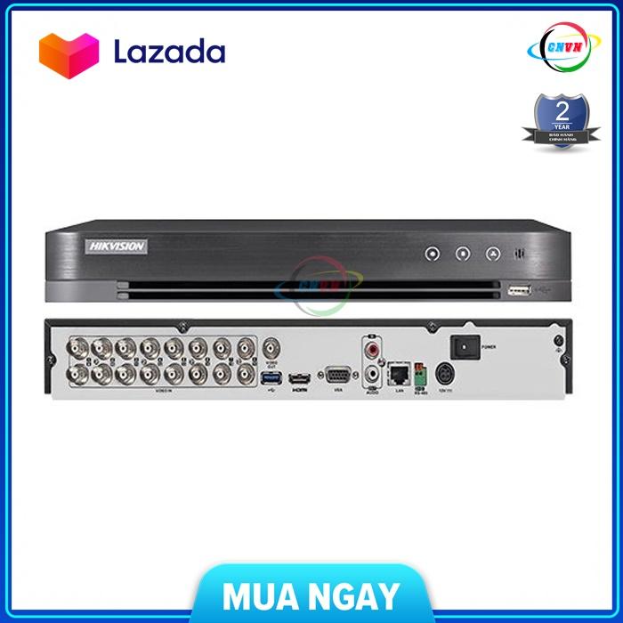 Đầu ghi HD-TVI DVR 16 Kênh Hikvision DS-7216HQHI-K2 (4.0MP )-Công Nghệ Việt Nam