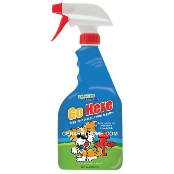Dung Dịch Tập Đi Vệ Sinh Đúng Chỗ Cho Chó - Go Here Spray