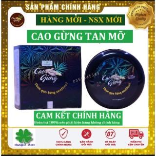 Kem tan mỡ cao gừng thiên nhiên Việt, Cao gừng tan mỡ giảm cân thumbnail