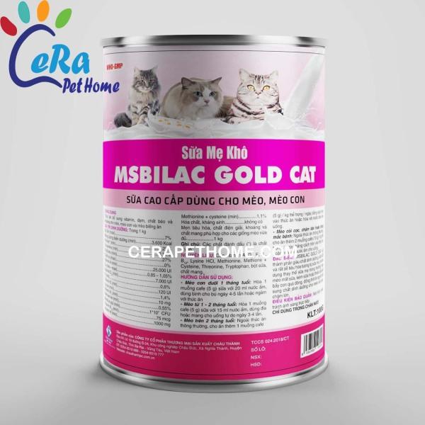 Sữa Mẹ Khô Cho Mèo - Msbilac Gold Cat - 330 gr