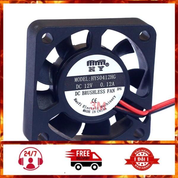 Quạt Tản Nhiệt Mini 4x4x1cm 12VDC 0.08A