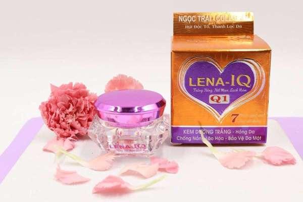 [HCM]Kem dưỡng trắng hồng da - Chống nắng - Lão hóa - Bảo vệ da Q1 LENA-IQ