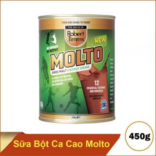 Sữa bột Canxi ca cao Molto Australia 450g thumbnail