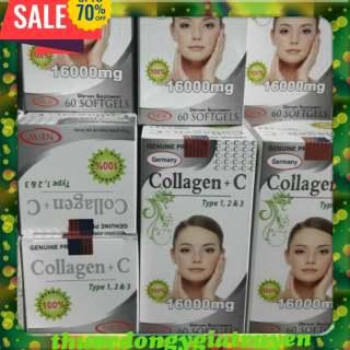 Collagen C Xóa nhăn,bổ sung Collagen giúp da đàn hồi săn chắc thumbnail