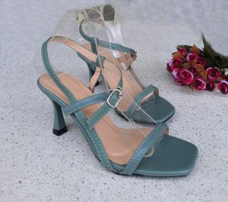 (Miễn ship và Giảm ngay 30k) Giày nữ, giày sandal cao gót 7 phân PinkShopGiayDep gót nhọn quai dây xỏ ngón hot trend - SD7N thumbnail