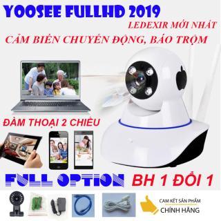Camera wifi yoosee Siêu nét FULL HD 1920x1080, công nghệ led mới, hình ảnh sắc nét, không bị giật, ổn định - đàm thoại 2 chiều, cảm biến chuyển động, tích hợp báo động, BH UY TIN 1 ĐỔI 1 bởi DMX thumbnail