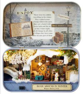 Mô Hình Nhà Gỗ DIY - Box theatre - Roam around in winter thumbnail