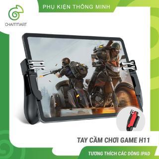 Tay cầm chơi game H11 cho ipad máy tính bảng tay cầm chơi game 6 ngón pubg ros liên quân Chammart thumbnail