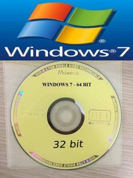 Bảng giá đĩa cài win 7 32b và 64b trong 1 đĩa Phong Vũ
