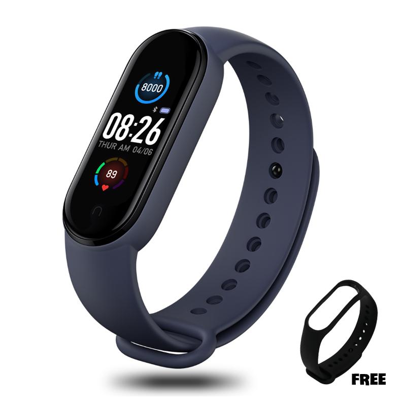 Vòng đeo tay thông minh, miband 5, đồng hồ thông minh xiaomi đo nhịp tim, theo dõi bước chân, nhận thông báo cuộc gọi, tin nhắn bảo hành 12 tháng M4A