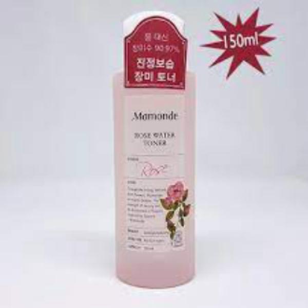 (MAMONDE) Nước Hoa Hồng Không Cồn Dưỡng Ẩm Mamonde Rose Water Toner 250ml +150ml