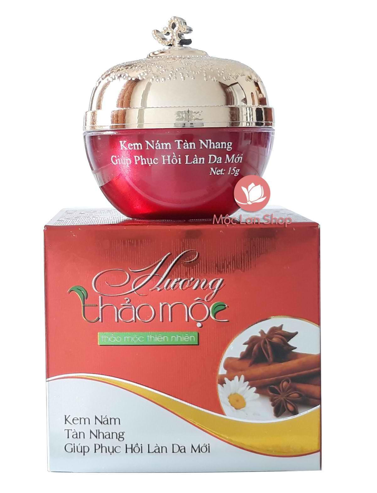 Kem Hương Thảo Mộc_kem nám, tàn nhang, giúp phục hồi làn da mới (15gr)