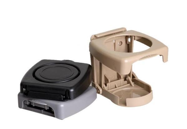 Cốc giữ cốc Chai (Màu đen) đựng đồ dùng trong xe ô tô xe hơi Cốc xe Sửa đổi Cốc giữ Kệ xếp trước Xe ô tô Hộp phân mảnh đa chức năng