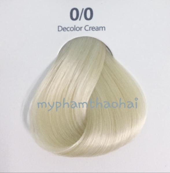 Thuốc nhuộm tóc nâng tông (0/0) + TẶNG kèm trợ nhuộm 100ml