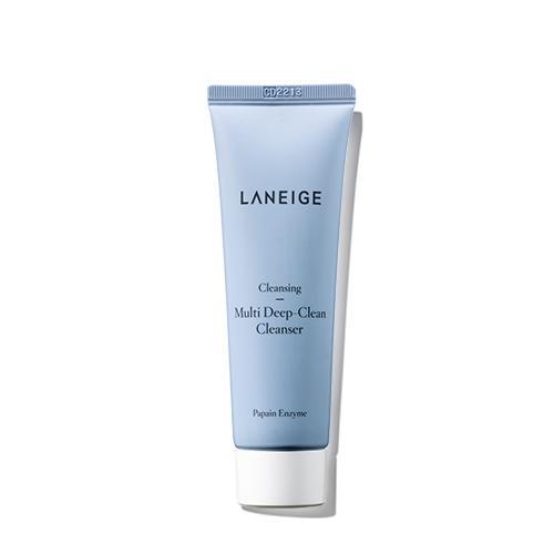 Sữa rửa mặt sạch sâu cho da dầu và da hỗn hợp Laneige Multi Deep Clean Cleanser 50Ml