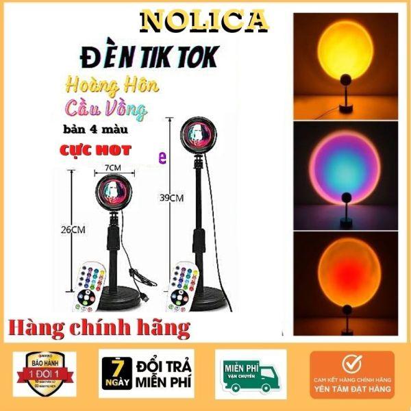 [FreeShip+Giảm 41%]Đèn hoàng hôn mini cao cấp NOLICA DT01 đèn quay tiktok đèn quay video  chụp ảnh đổi 4 màu Đèn nền-Đèn cầu vồng- Led-Chụp hình  giá rẻ