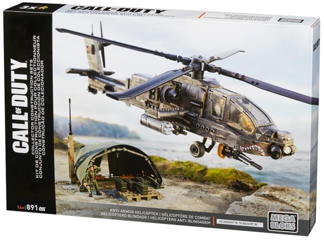 Mega Bloks Call Of Duty DPB60 - Trực Thăng Chống Tăng - ANTI-ARMOR HELICOPTER Giá Tốt Nhất Thị Trường