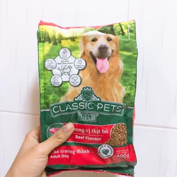 Thức ăn cho chó vị bò Classic Pet