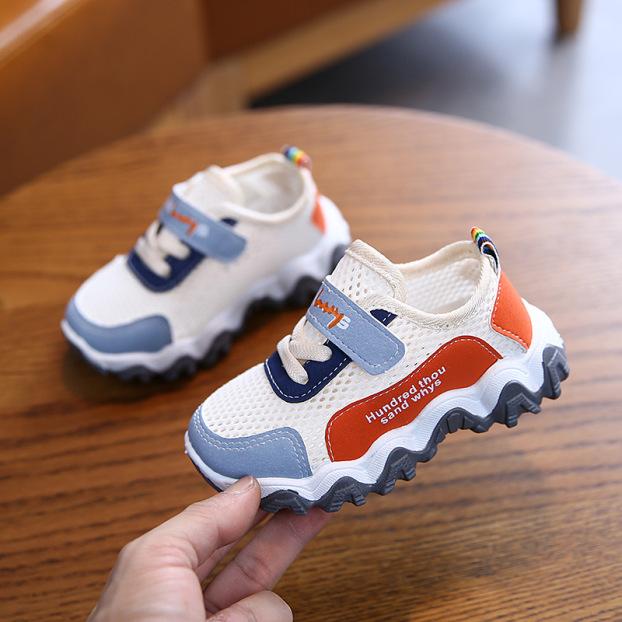 Giày cho bé trai và bé gái thể thao chống trơn trượt tốt, thoáng khí giá rẻ