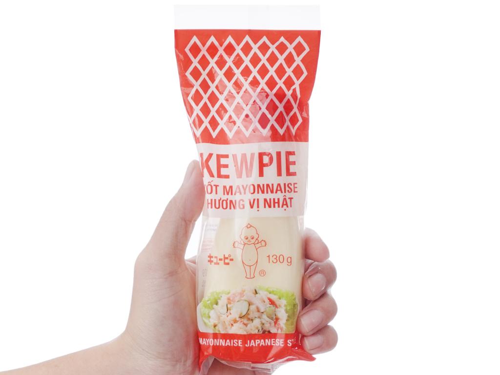 Xốt mayonnaise Kewpie hương vị Nhật chai 130g