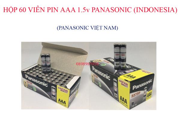 Bảng giá Pin AAA hộp 60 viên Carbon 1.5v PANASONIC R03NT/2S