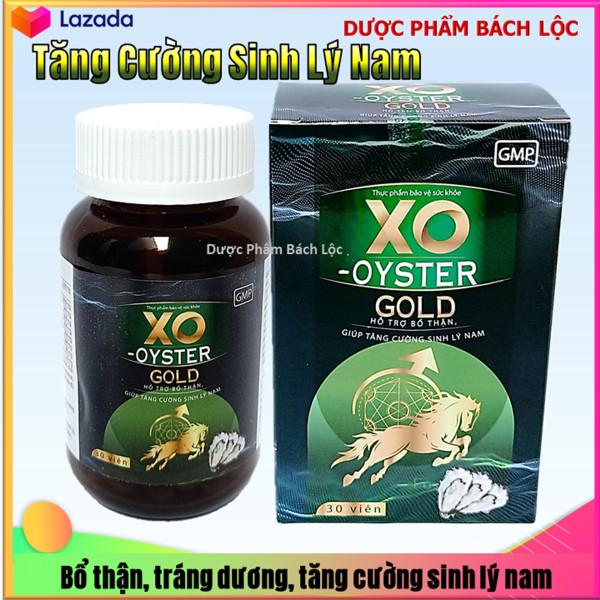 Viên uống hàu biển XO - OYSTER GOLD - Giúp tăng cường sinh lý nam, bổ thận tráng dương, mạnh gân cốt, thành phần hàu biển dâm dương hoắc nhân sâm, tỏa dương - Hộp 30 viên chuẩn GMP cao cấp