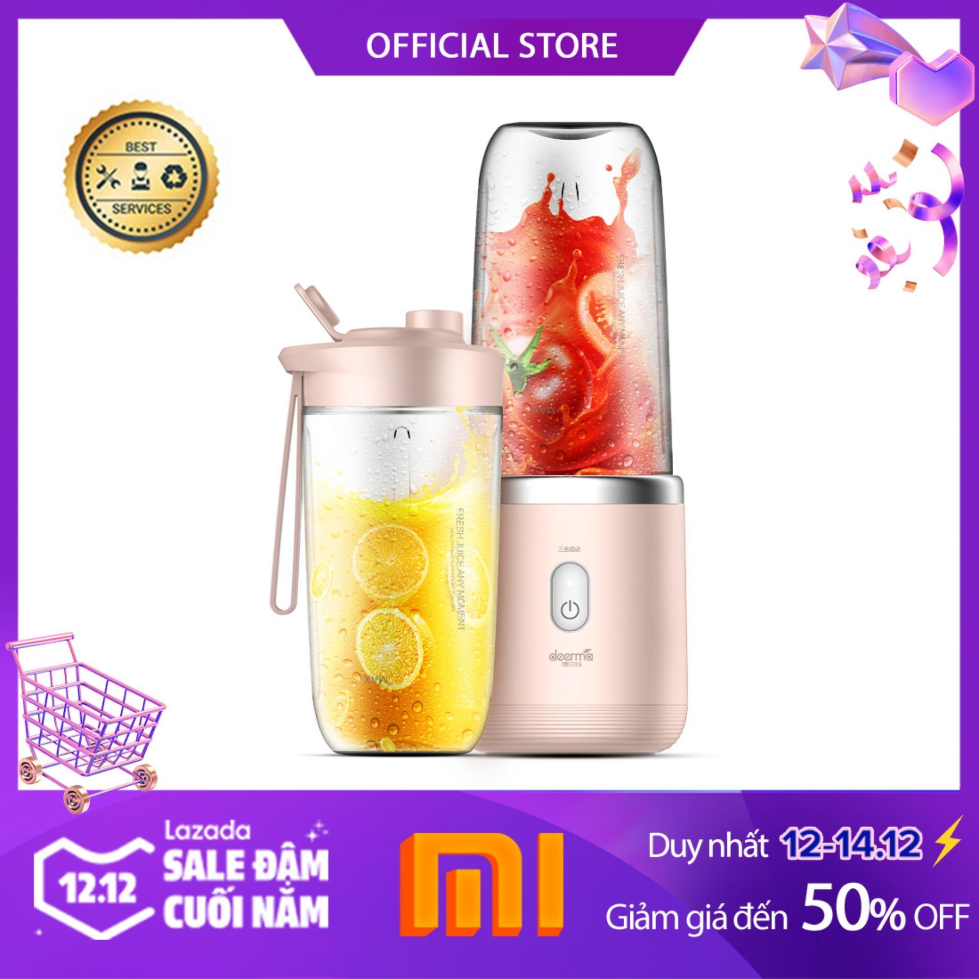 Máy Xay Sinh Tố Deerma Mini Juicer Blender Với Giá Sốc