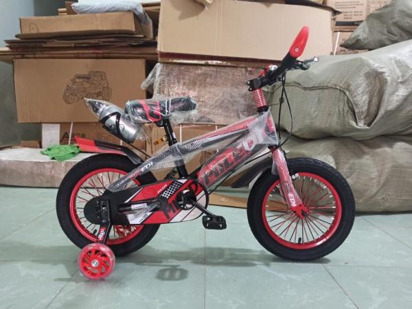Mua [ siêu rẻ] XE ĐẠP THỂ THAO CỠ 14 INCH CHO BÉ TRAI (4-6 TUỔI) - xe đạp trẻ em