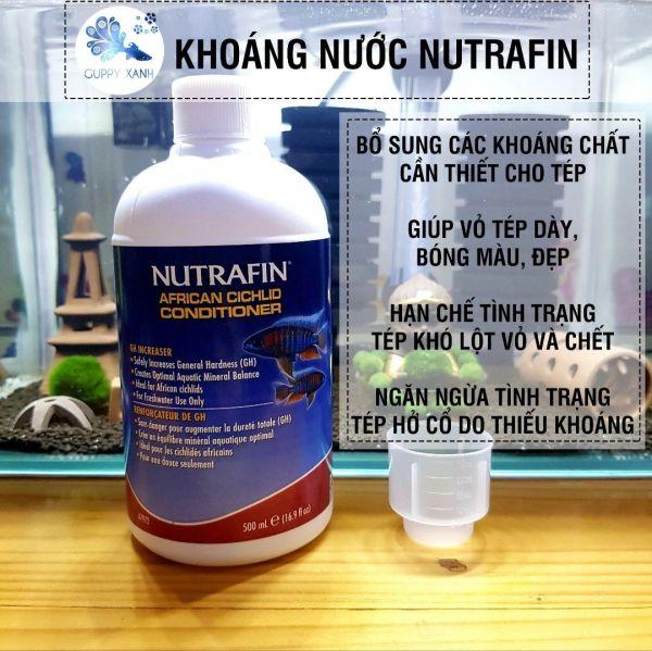 Khoáng tép cao cấp Nutrafin 500ml - hỗ trợ lên màu và phát triển cho tép cảnh