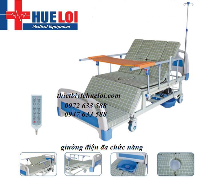 Giường bệnh đa chức năng điều khiển bằng điện JYC01