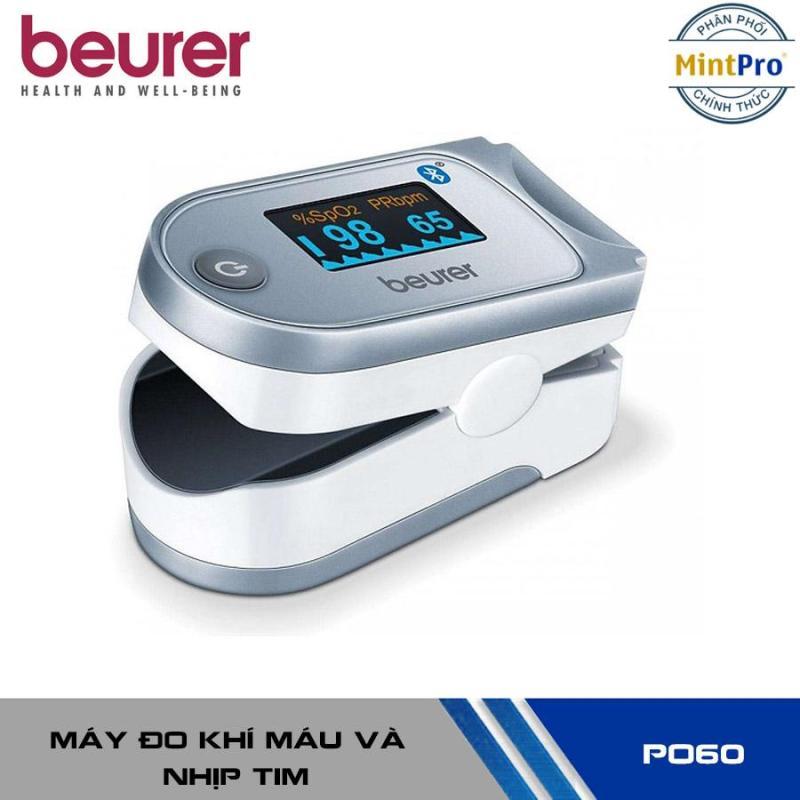 Máy đo khí máu và nhịp tim cá nhân kết nối smartphone qua bluetooth Beurer PO60 bán chạy