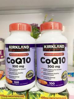Viên Uống Hỗ Trợ Tim Mạch Kirkland CoQ10 300mg, 100 Viên, Mẫu mới thumbnail