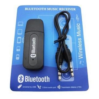 [HCM]USB Bluetooth kết nối Loa Thường thành loa không dây BT163 (Đen) thumbnail