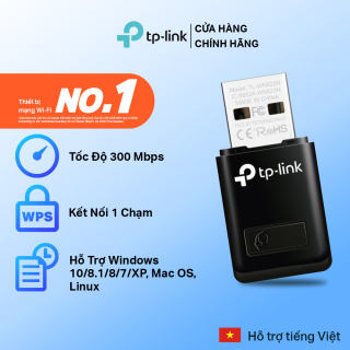 Bộ Chuyển Đổi USB Wifi TP-Link TL-WN823N Chuẩn N 300Mbps - Hãng phân phối chính thức