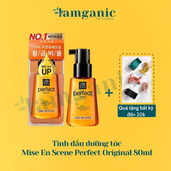 [Mẫu Mới 2020] Tinh Dầu Dưỡng Tóc Mise En Scene Perfect Serum 80ml phục hồi tóc chiết xuất từ dầu Argan - Orignial cao cấp