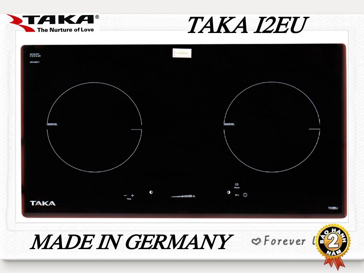 [Trả góp 0%]Bếp Từ Đôi Kính SCHOTT Made In GERMANY TAKA I2EU