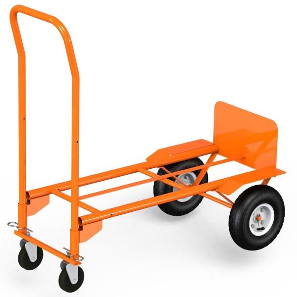 Xe đẩy 2 chức năng sử dụng 2 bánh và 4 bánh KANSON tải 270/360kg