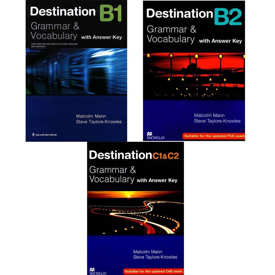 Giảm Giá Quá Đã Phải Mua Ngay Sách - Combo 3 Cuốn Destination Grammar & Vocabulary B1, B2 Và C1&C2