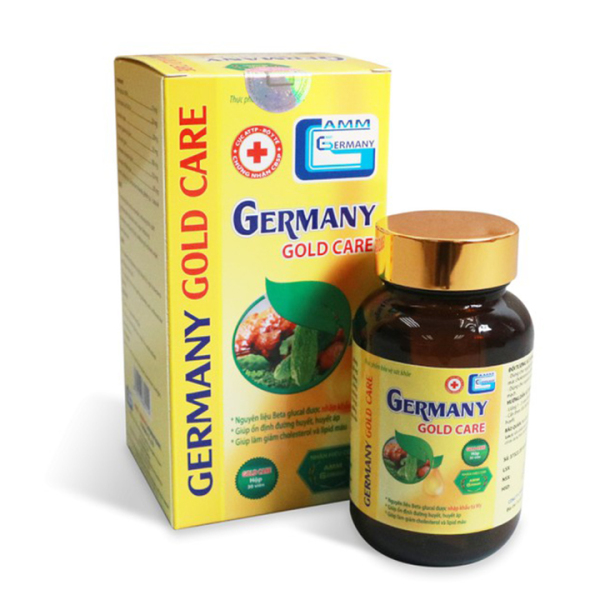 [CHÍNH HÃNG] Giảm đường huyết GERMANY GOLD CARE Lọ 30 viên - Hỗ trợ giảm mỡ máu, ổn định huyết áp - Hàng chính hãng - Đánh giá 5 sao - chất lương cao
