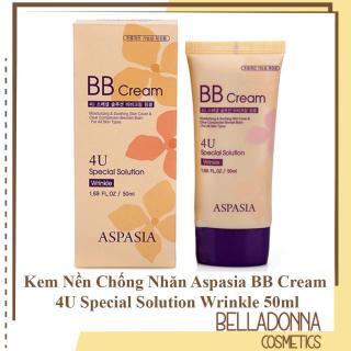 [ 2 Loại ] Kem Nền Che Khuyết Điểm Aspasia BB Cream 4U Special Solution 50ml thumbnail