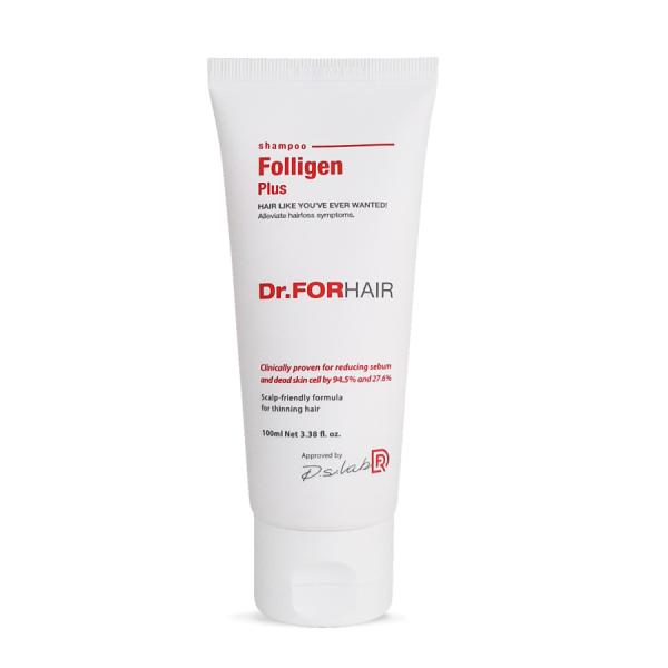Dầu gội ngăn rụng tóc Dr FOR HAIR Folligen Plus Shampoo 100ml giá rẻ