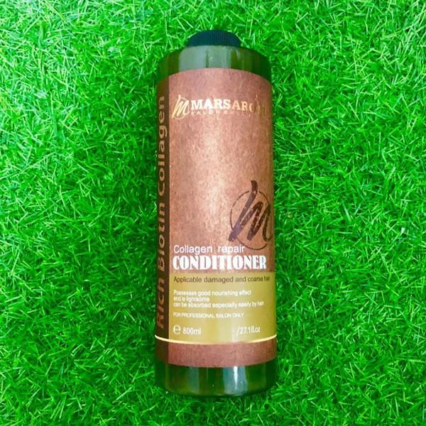 Dầu xả Masaroni Collagen Repair Conditioner phục hồi siêu mượt tóc 800ml cao cấp