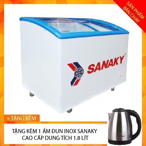 TỦ ĐÔNG TRƯNG BÀY KEM SANAKY 450 LÍT VH-6899K
