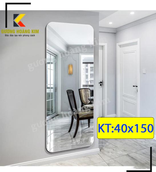 Gương soi toàn thân cao cấp treo tường kích thước 40x150 cm - guonghoangkim - Mirror